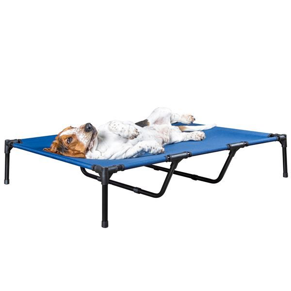 Prevent your pet from overheating while relaxing inside or out with the Lucky Dog Elevated Dog Bed. Fast-drying and perfect for relaxing on the patio. Get it at Discount Ramps!