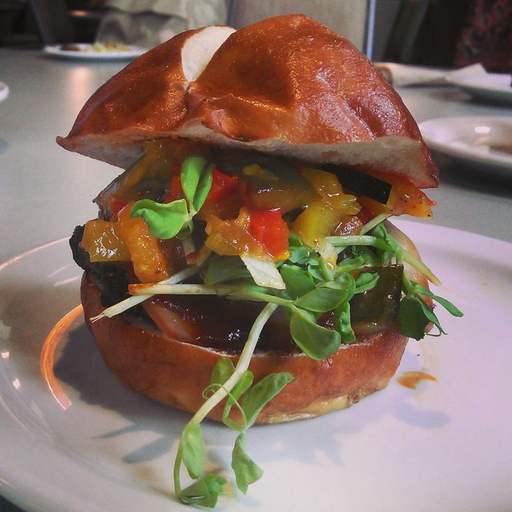 We'll let you choose your own technique for tackling this mammoth burger!