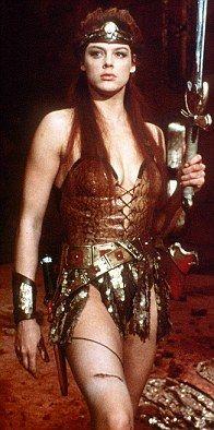 Brigitte Nielsen as Red Sonja 1985