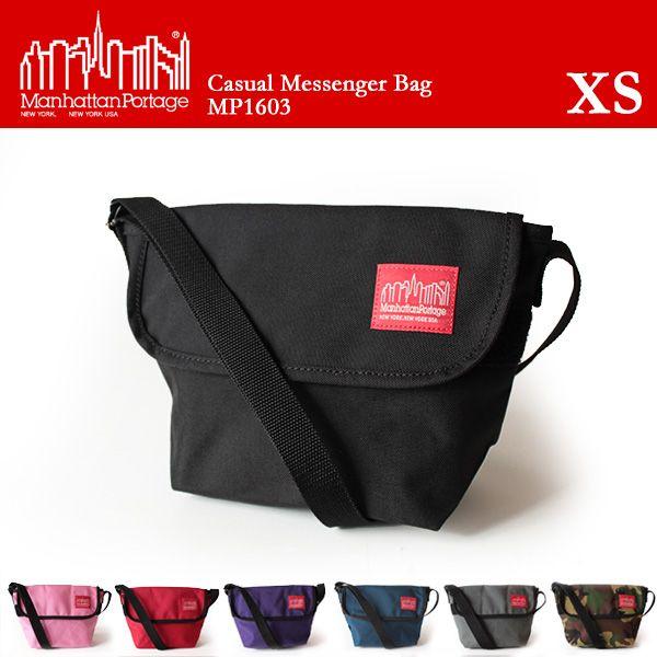 Manhattan Portage マンハッタンポーテージ メッセンジャーバッグ ショルダーバッグ Casual Messenger Bag XS MP1603