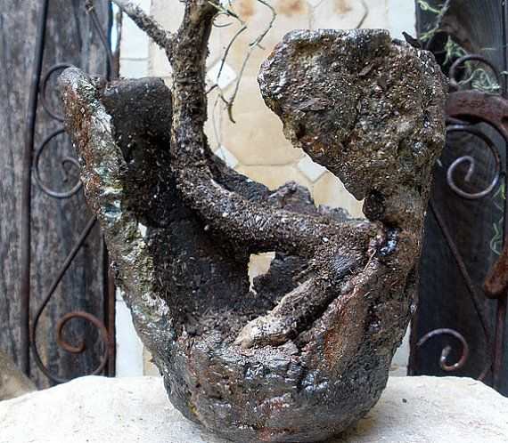 Cement Garden Art: 32 Best Hypertufa Images On Pinterest