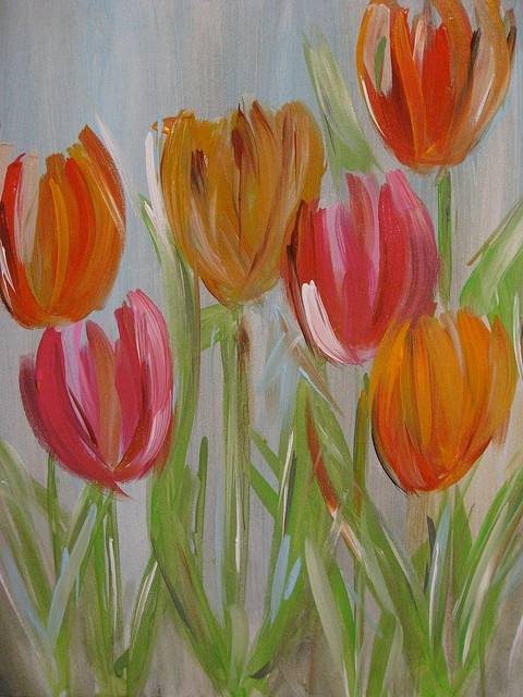 Tulips by easelyamused, via Flickr