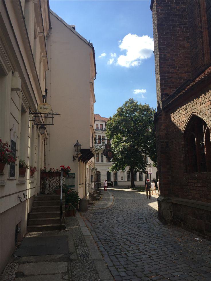 Berlino, zona Nikolaiviertel.