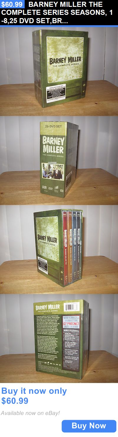 cds dvds vhs: Barney Miller The Complete Series Seasons, 1-8,25 Dvd Set,Brand New,Sealed BUY IT NOW ONLY: $60.99