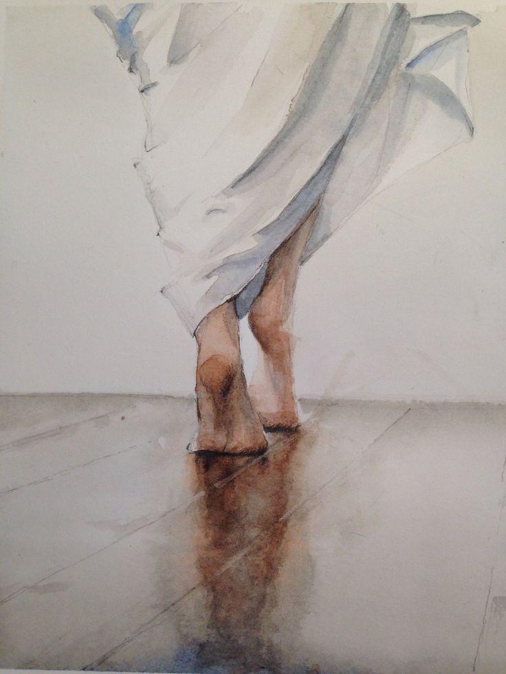 Acquerello su carta. Alessandra Lazzarin #Watercolour #acquerello