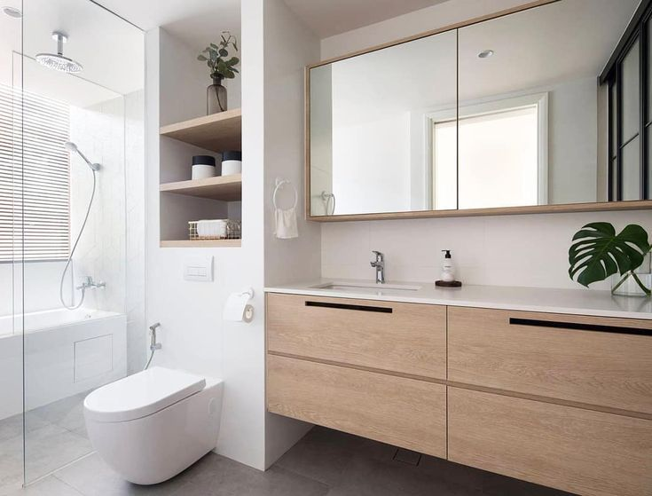 Love that recessed shelving above the toilet! (Desig   – APLANZ – #APLANZ #Desig…   – shelves in bedroom