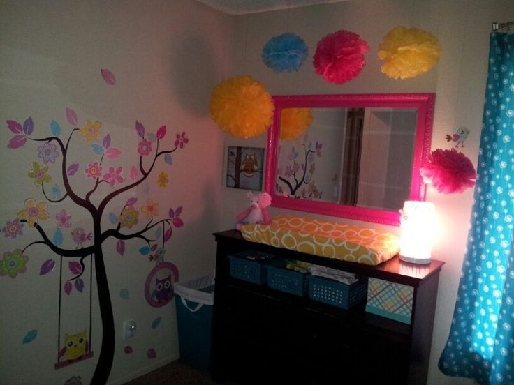 Sophia's room is finally done.