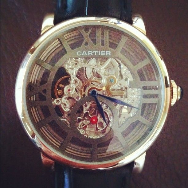 Cartier Rotonde watch