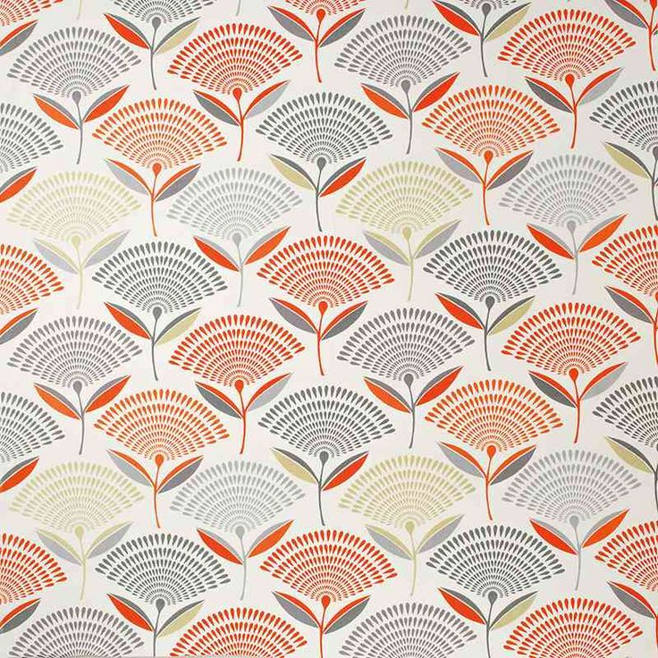 Warwick Fabrics : DANDELION, Colour AMBER
