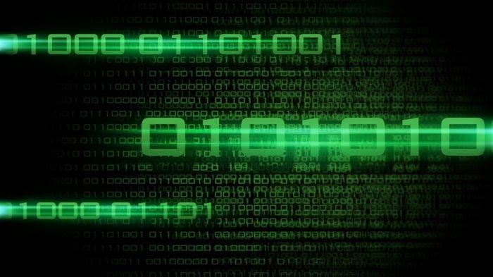 Binary Black Background Technology Code Green Computer Numbers The Matrix Digital Art Wallpap Hd Wallpaper Desktop Code Wallpaper Binary Code