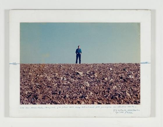 """Gina Pane, """"Situation idéale"""", action, (1969)"""