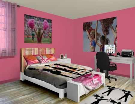 48 Best Images About Cheer Bedroom On Pinterest
