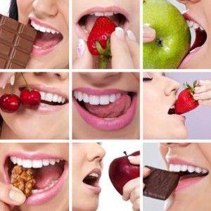 Ecco come avere #denti sani e belli grazie ad una corretta alimentazione e un'igiene orale costante. Scopri gli #alimenti che ti aiutano ad avere un #sorriso ideale