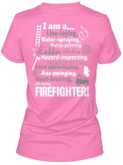 Female Firefighter Shirt