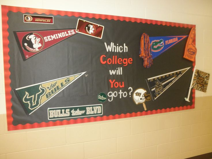 college classroom themes   on putting photos of famous alumni from those colleges including their ...