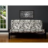 Found it at Wayfair - Efflorescence Full Futon Slipcover
