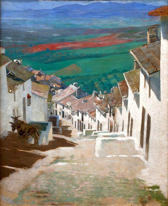 Jens Ferdinand Willumsen - Street in Alora, 1889