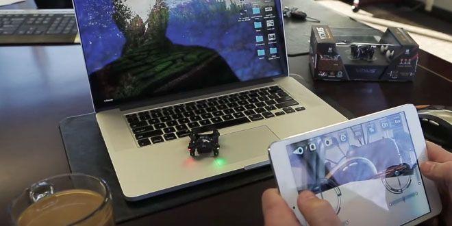Vidius de Axis es el drone que cabe en la palma de tu mano http://j.mp/1l5WXVm |  #Axis, #Drone, #Gadgets, #Noticias, #Tecnología, #Vidius