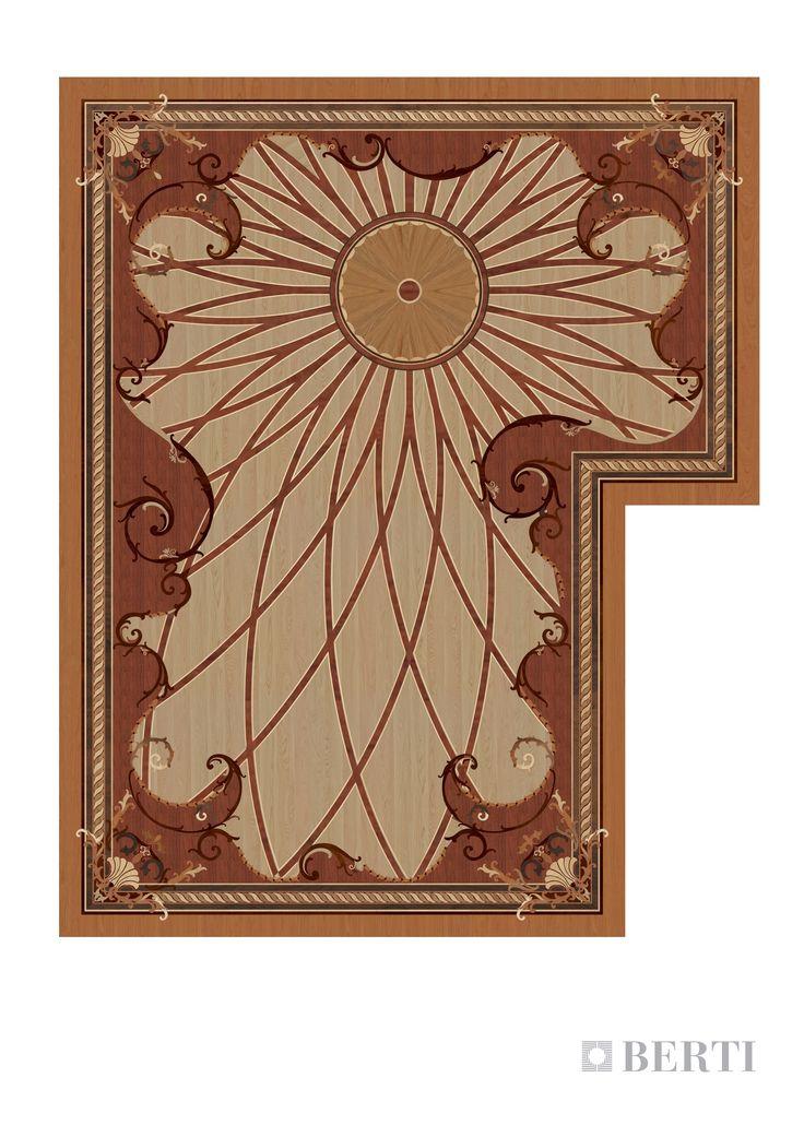 Berti-Wooden-Floors render living room eastern #parquet #parquetlovers