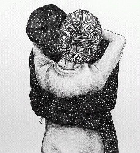 Resultado de imagen de dibujos de parejas tumblr