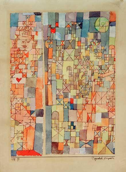 Paul Klee - Dogmatische Komposition, 1918, 74.