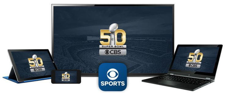 cool NFL Super Bowl 50 TV Schedule by CBS Sports