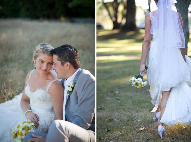 Jemma Christopher S Yellow Garden Wedding