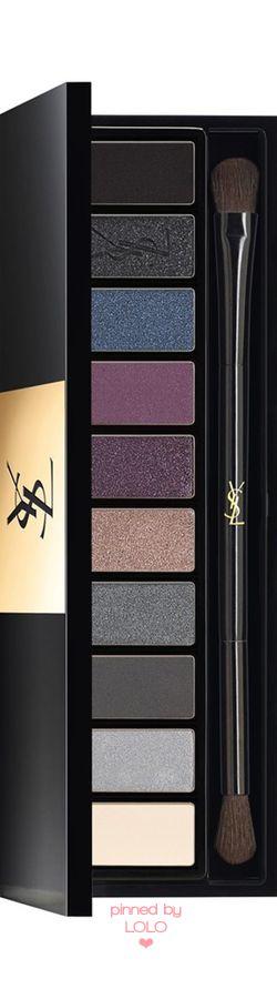 YSL 'Tuxedo' Couture Variation Ten-Color Expert Eye Palette | LOLO❤