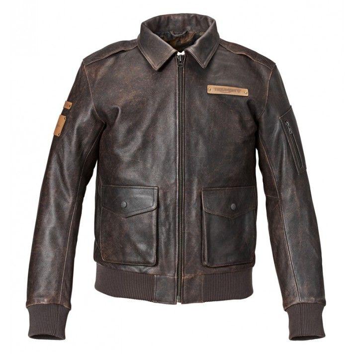 Veste cuir mcqueen king jacket triumph
