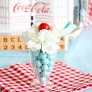 Isn't our DIY milkshake place card holder the bees knees?! Check out how we made this adorable holder on @orientaltrading for our recent retro bridal shower! sweettreats #sweets #cake #cakes #cakeart #cakelife #cakedesign #cakemaster #cakedesigner #sugar #sugarart  #edibleart #chic #elegant #beautiful #pretty  #foodie  #icecream #candy  #retro  #baking #wedding #pink #cupcakes  #dessert  #weddingideas  #love #photooftheday #bridalshower