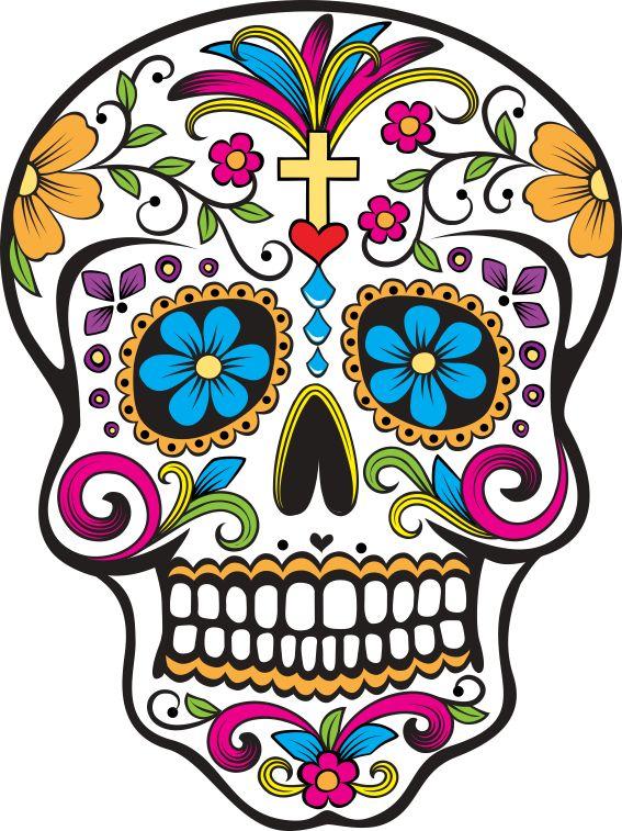 Estampa para camiseta Caveira Mexicana 000099