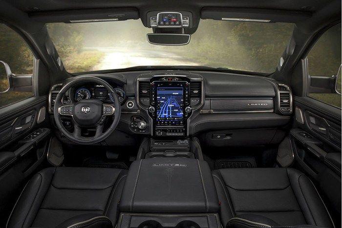 New 2019 Ram 1500 Sport Interior Dashboard