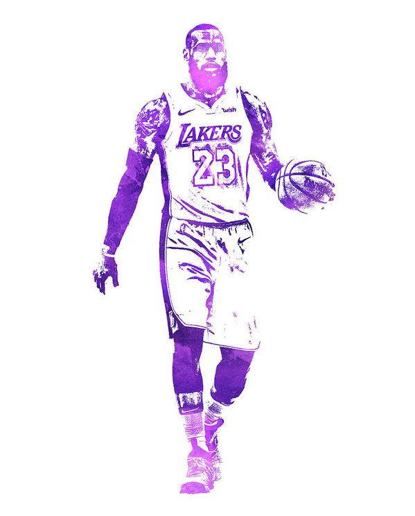 8bea2df3 Lebron James Los Angeles Lakers Water Color Pixel Art 1 Art Print | Lebron  James | Lebron james lakers, Lebron james, Lebron james wallpapers