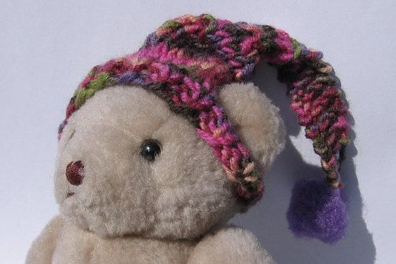 Teddy head 18 cm 71 inch nutka_art handmade doll bear by nutkaart