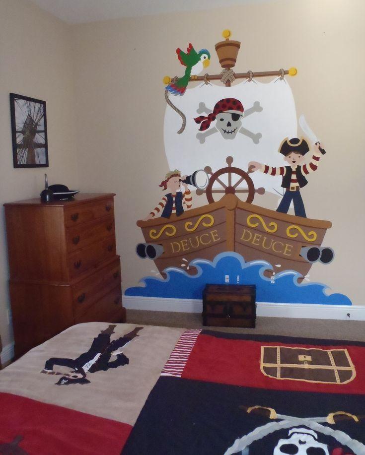 Die Besten 25 Piratenschiff Bett Ideen Auf Pinterest Jungen Piratenschlafzimmer Schiffbett