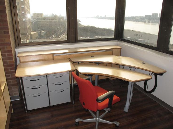 Personal Plus Desk with Maple finish & silver frame, Utility Table, File cabinets