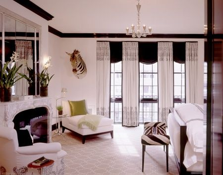 136 best Black & White Bedrooms images on Pinterest | At home ...