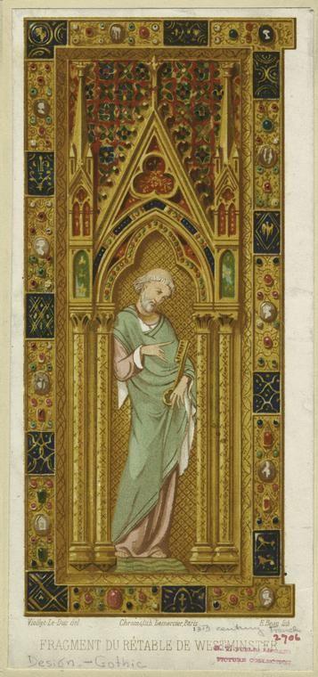 Средневековое искусство и готический орнамент Средневековое искусство и готикический орнамент #32