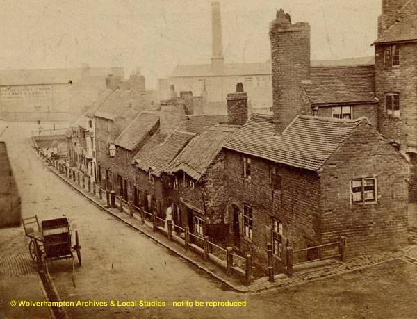 Broad Street, Wolverhampton, circa 1870, P/4677 by WAVE:Galleries, Museums, Archives of Wolverhampton, via Flickr