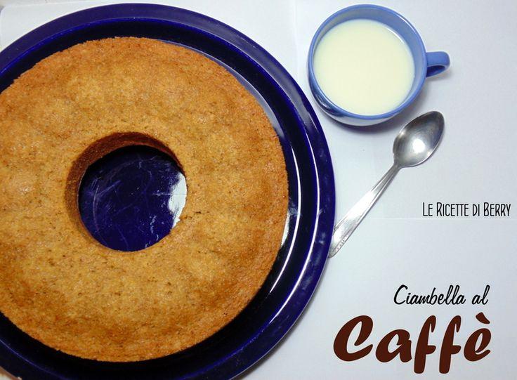 Ciambella al Caffè Morbidissima senza Burro Uova