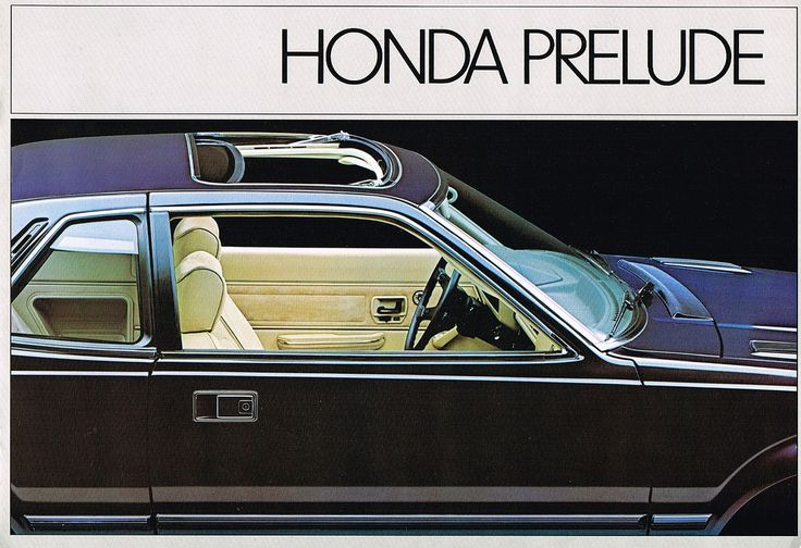Honda Prelude Mk1 Canada Brochure 1980