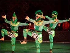 Java Indonesia - Javanese Dance - Hanoman dance
