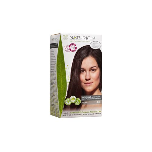 Naturigin Hair Colour - Permanent - Brown - 1 Count - NATURIGIN offers you 19 different natural permanent hair colour options as well as natural and organic hair wash and conditioner that gives you beautiful natural hair.