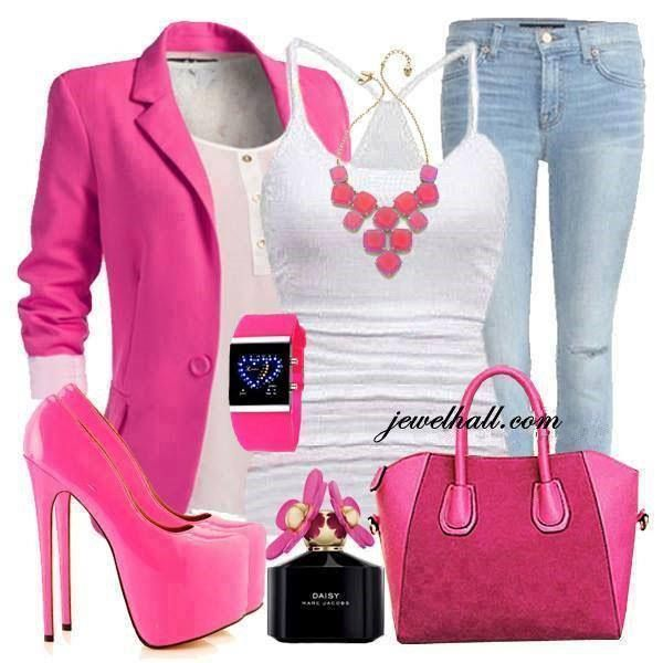 c3624917c13 Pink and white outfit | Style | Pink outfits, Fashion, Outfits