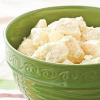 Amish Potato Salad...just like grandmas...my grandpa wouldn't do onions...this is exactly how she made hers..