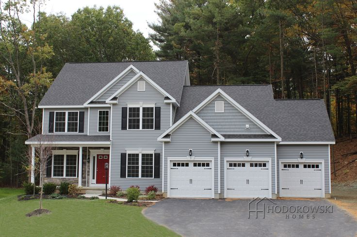 A Beautiful Saratoga B Model House With Quot Granite Grey