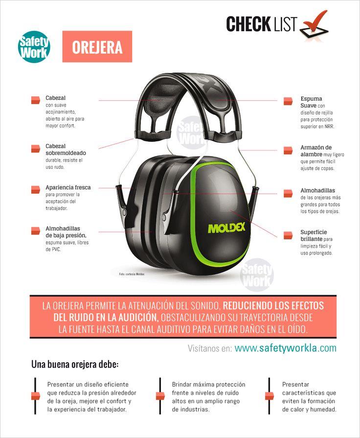 Orejera | Safety work