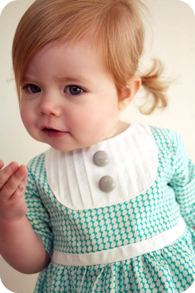 Please oh pleaseeee can I have a ginger baby when we have kids?? She is adorable!