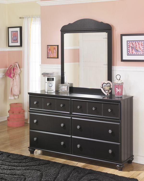 Miles Dresser U0026 Mirror Set $399.99 Sku:133550 Dimensions:93Wx18Dx77.25H The  Miles