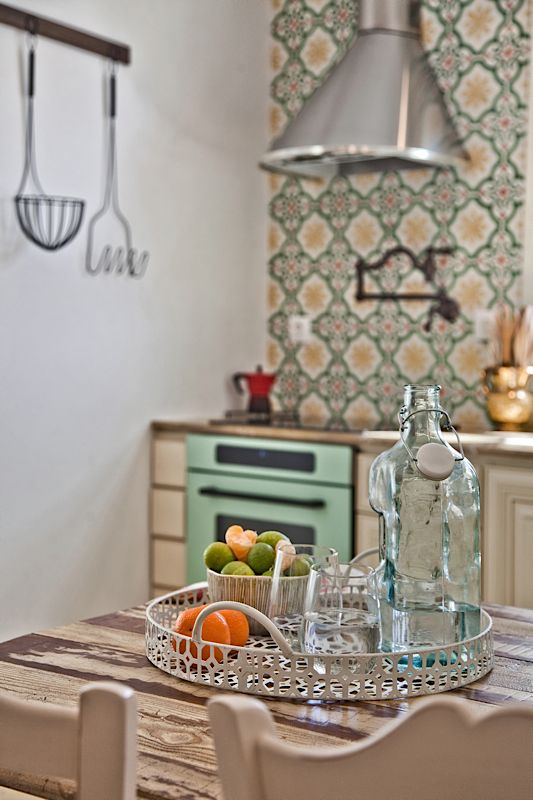 Architecture & Interior design by DESIGN LAB VI, traditional White House in Othos Karpathos, Greece. #designlabvi, #karpathos, #kitchen  www.designlabvi.com